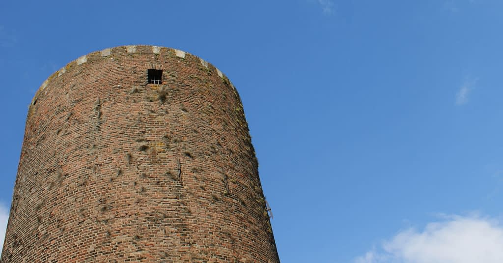 Mühlenturm Rees ( erbaut 1470 n.Chr. )